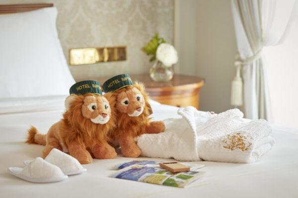 Hotel Imperial Löwe-Plüschtier